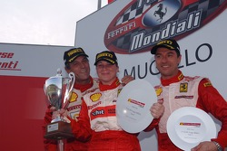 Coppa Shell race 2: the podium