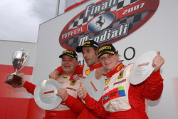 Coppa Shell: the podium