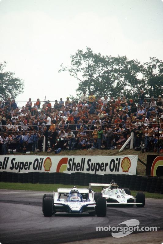 Desiré Wilson (à direita) tentou se classificar para o GP da Grã-Bretanha de 1980, mas também sem sucesso.