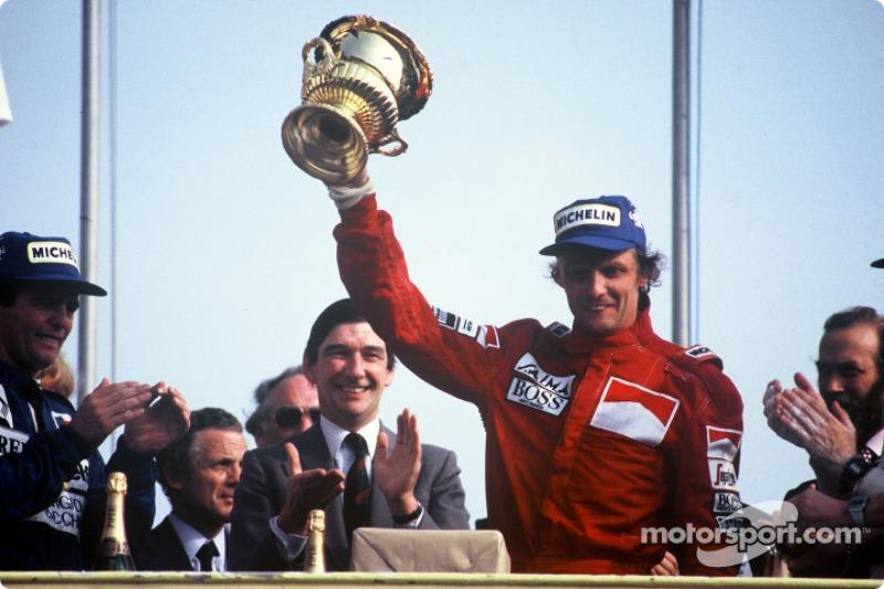 Niki Lauda (1975, 1977, 1984)