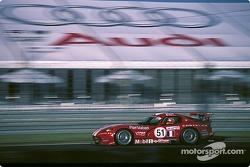 #51Team Oreca Chrysler Viper GTSR: Karl Wendlinger, Olivier Beretta, Dominique Dupuy