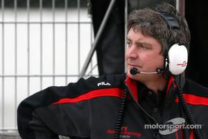Ferrari's new Track Engineer Steve Clark