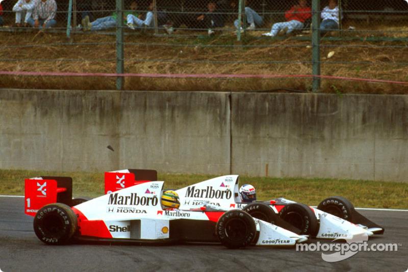 1988 - 1990: Senna vs Prost