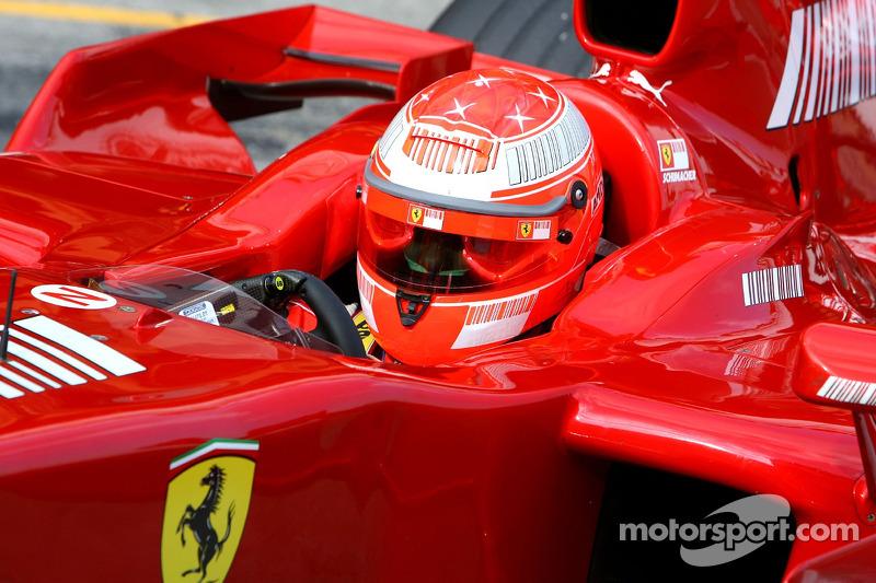 2007: Testing for Ferrari