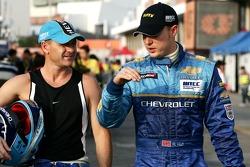 Nicola Larini, Team Chevrolet, Chevrolet Lacetti, Robert Huff, Team Chevrolet, Chevrolet Lacetti