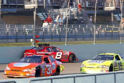 Dale Earnhardt Jr. crashes
