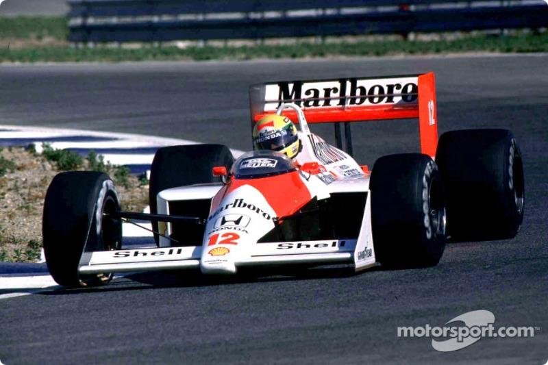 1988 – 1992: McLaren