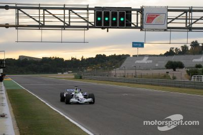 Test BMW Sauber à Valence
