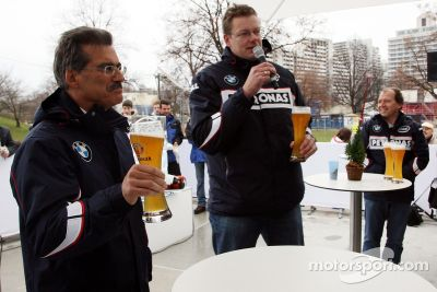 BMW Welt, BMW Motorsports party, Munich, Germany