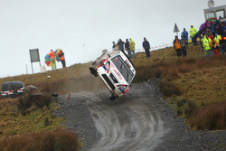 Andreas Mikkelson and Ola Floene, Ford Focus WRC, crashes