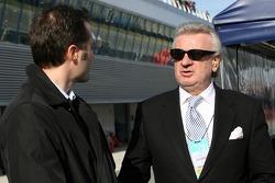 Willy Weber, manager de Nico Hulkenberg, WilliamsF1 Team piloto de prueba