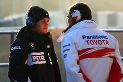 Frank Dernie, Toyota Racing, Marco Asmer, Test Driver, BMW Sauber F1 Team
