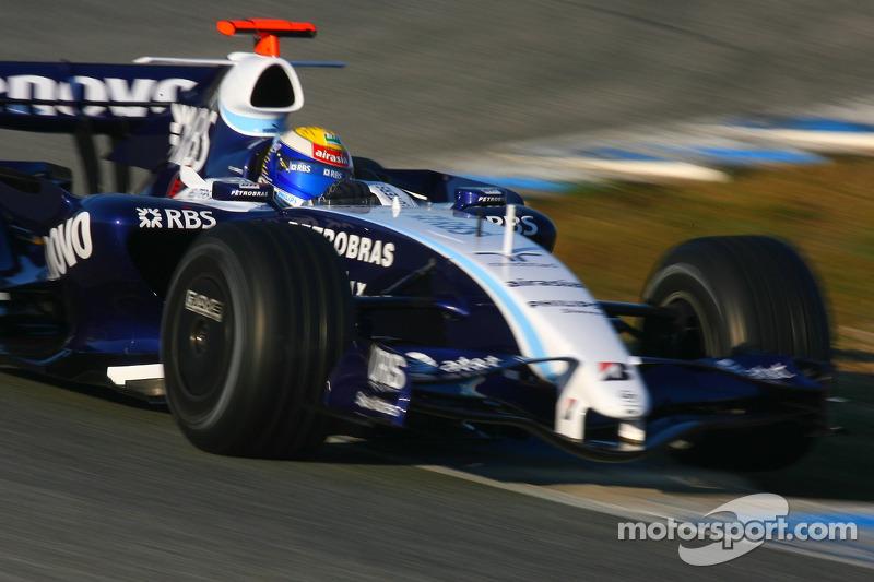 #16: Nico Rosberg, WilliamsF1 Team, FW29-B