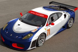 The Ferrari F-430 that Tafel Racing will run in the GT2 class in the 2008 season of the American Le Mans Series