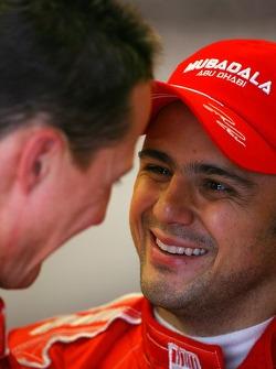 Felipe Massa, Scuderia Ferrari en Michael Schumacher, Scuderia Ferrari