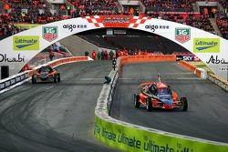 Cuartos de final 4: Michael Schumacher y Travis Pastrana