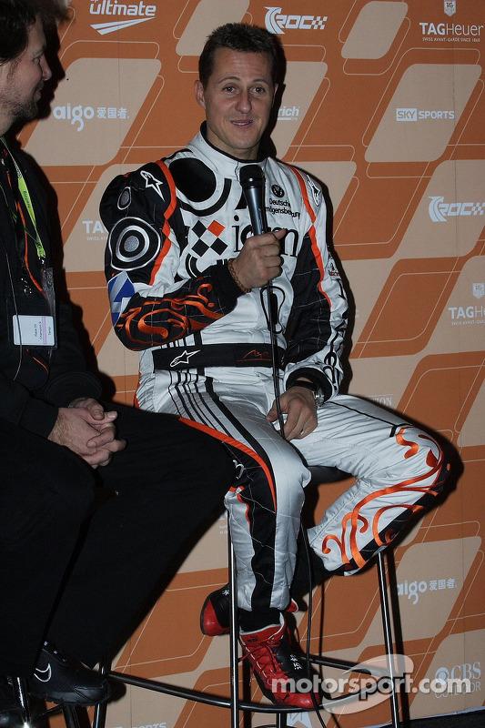 Press conference: second place Michael Schumacher