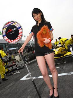 Grid girl, A1 team Malaysia