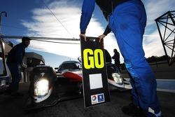 Dino Lunardi tests the Peugeot 908 Hdi FAP