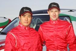 Team Dessoude presentation in Le Galicet: Zhou Yong and Sylvain Poncet