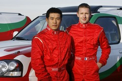 Team Dessoude presentation in Le Galicet: Zhou Yong and Sylvain Poncet
