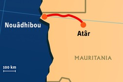 Stage 10: 2008-01-15, Nouhadibou to At'r