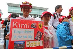 Fans de Kimi Raikkonen, Ferrari