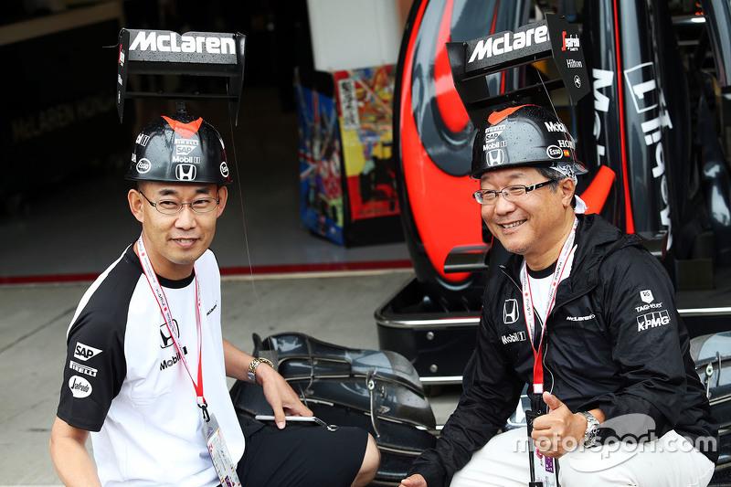 McLaren Honda taraftarları
