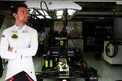 Джолион Палмер, Lotus F1 Team Test and Reserve Driver