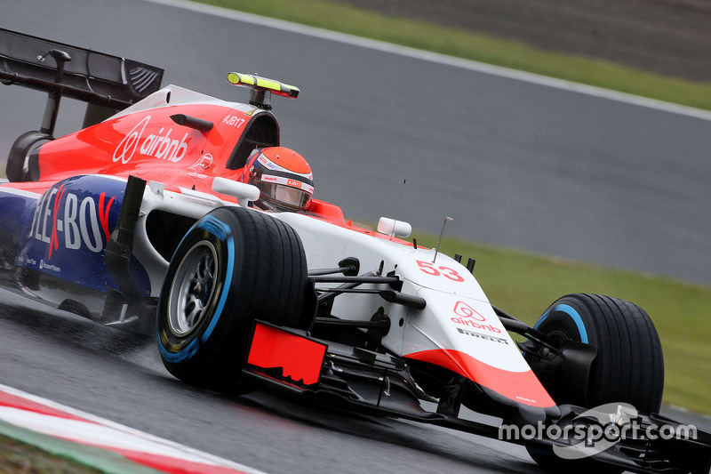 Alexander Rossi, Manor F1 Team