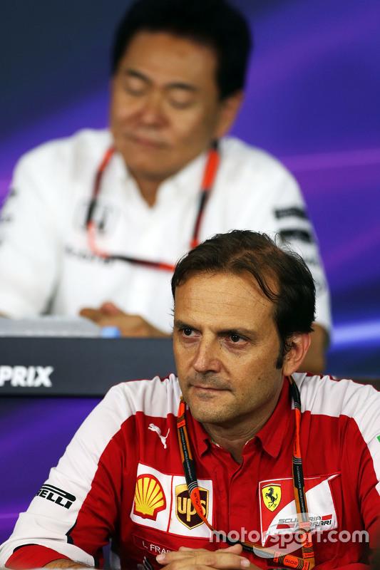 Luigi Fraboni, Ferrari