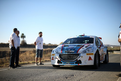 Bruno Magalhaes e Hugo Magalhaes, Peugeot 208 T16