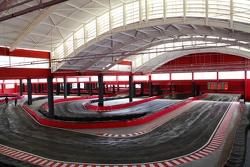 Detalhe do kartódromo do Speedland