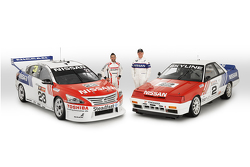 Michael Caruso und Jim Richards, Nissan Motorsports