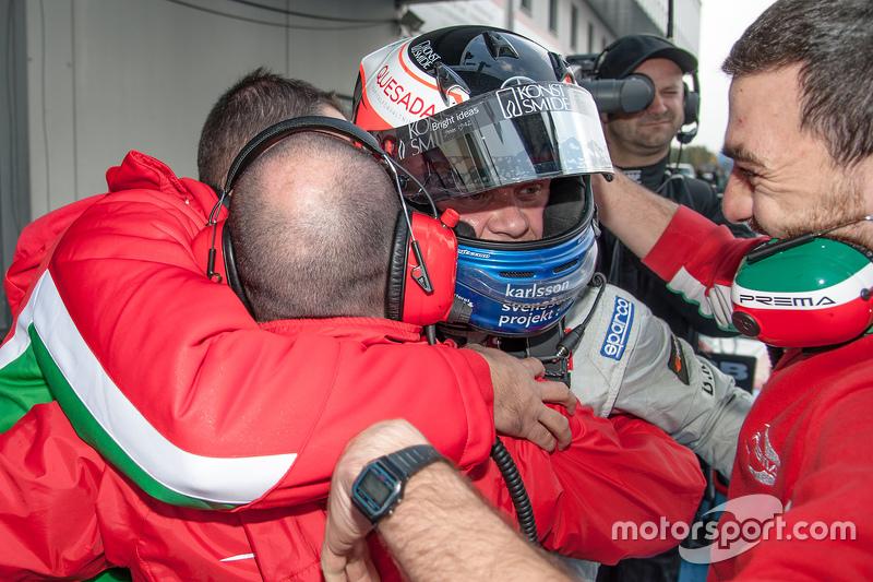 ПереможецьФелікс Розенквіст, Prema Powerteam Dallara F312 - Mercedes-Benz