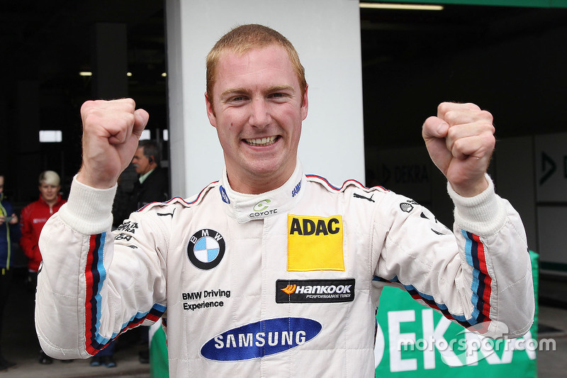 Race winner Maxime Martin, BMW Team RMG BMW M4 DTM