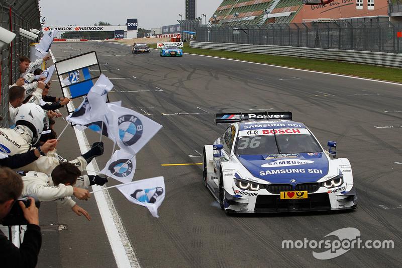 Максім Мартін, BMW Team RMG BMW M4 DTM перемагає
