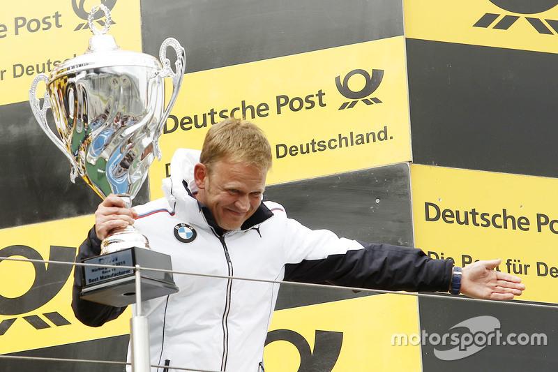 Podium: winning team Stefan Reinhold, BMW Team RMG