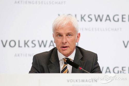 Volkswagen Matthias Müller como nuevo CEO