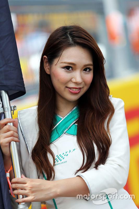 Chica de la parrilla GP de Japón