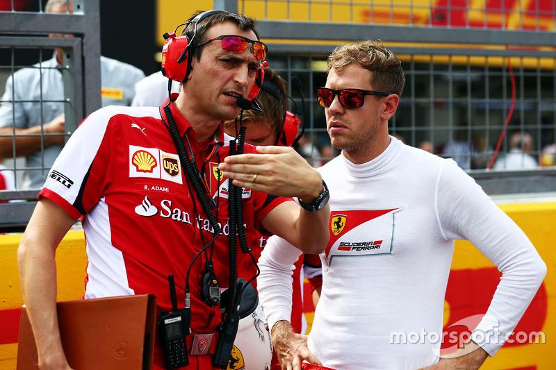 Riccardo Adami (Sebastian Vettel)