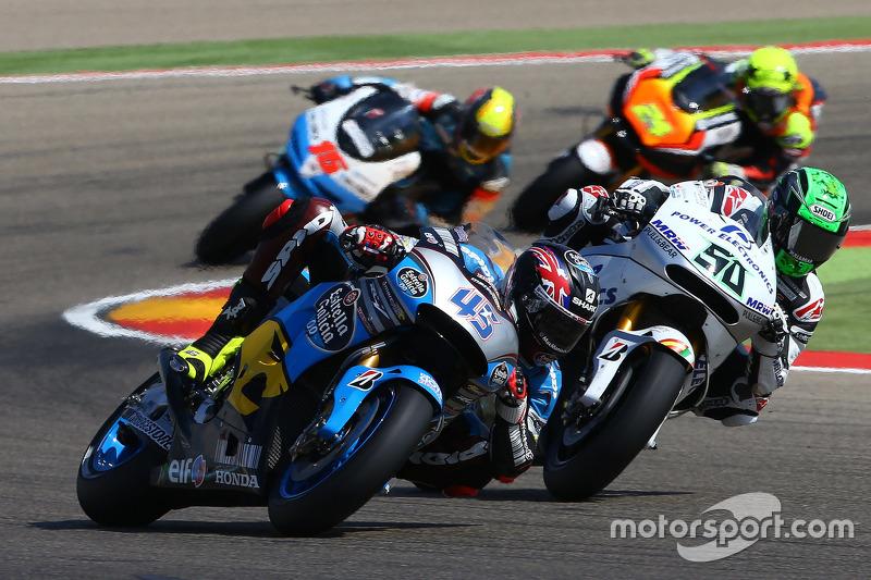 Scott Redding, Marc VDS Racing Honda and Eugene Laverty, Aspar MotoGP Team