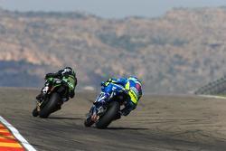 Pol Espargaro, Tech 3 Yamaha et Aleix Espargaro, Team Suzuki MotoGP