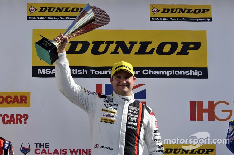 Race 1 Winner Mat Jackson, Motorbase Performance, Ford Focus