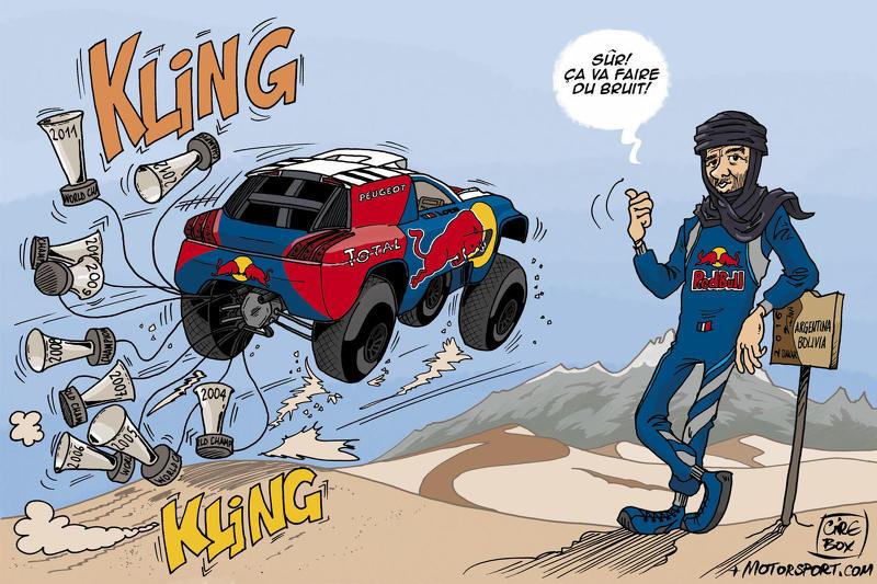 Sébastien Loeb débarque sur le Dakar!