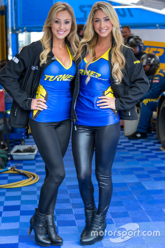 Lovely Turner Motorsport grid girls