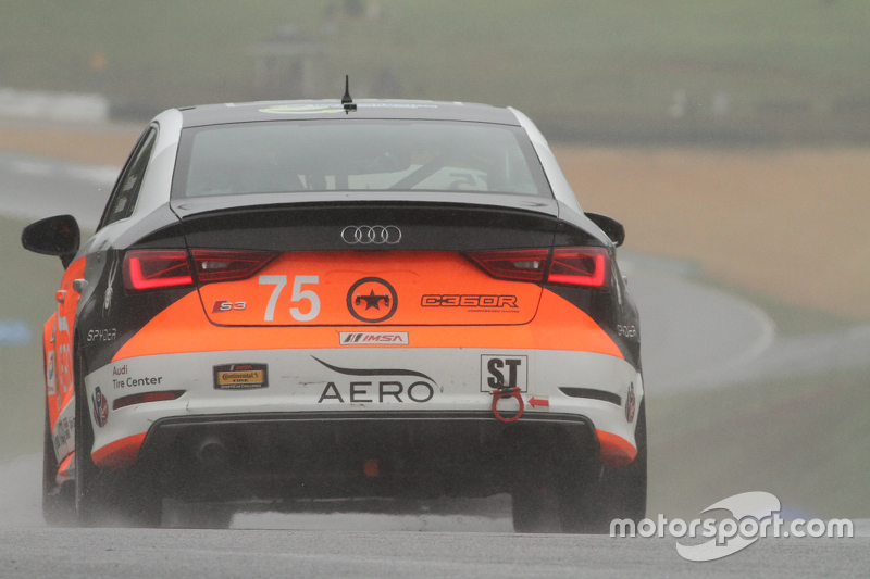 #75 Compass360 Racing Audi S3: Paul Holton, Kyle Gimple