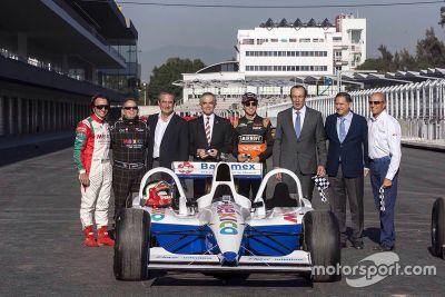 Inhuldiging Autódromo Hermanos Rodríguez