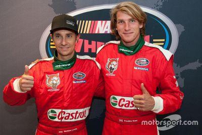 Lauda/Hunt team announcement
