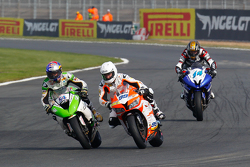 "Kenan Sofuoglu, Kawasaki Puccetti Racing, P. J. Jacobsen, CORE"" Motorsport Thailand, et Lucas Mahias, MG Competition"